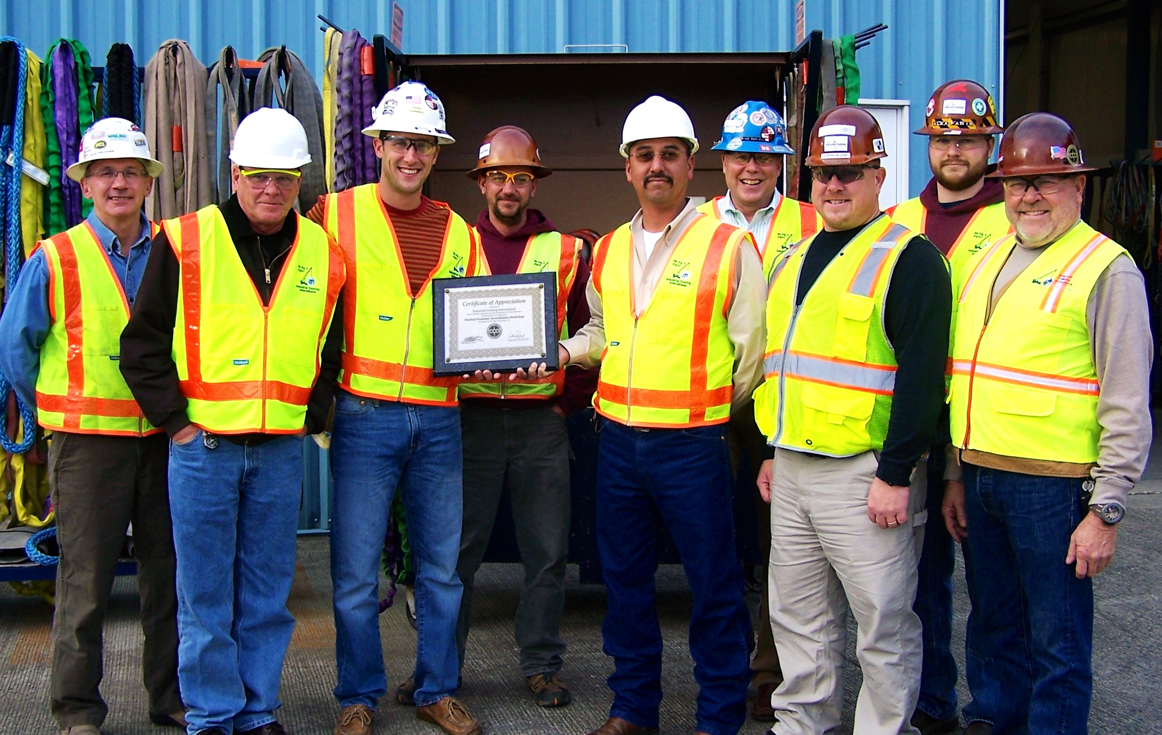 ITI Trainers Participate in NCCCO Practical Examiner Workshop