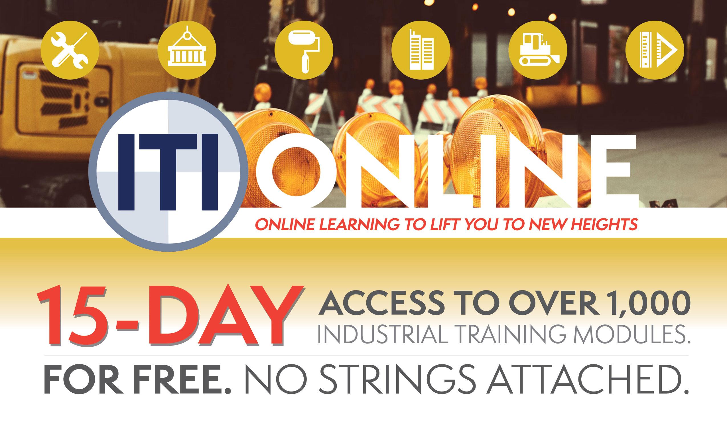 ITI Online 15 Days Free