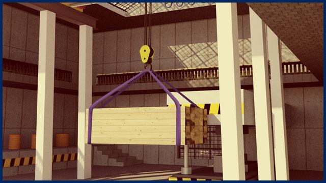 Overhead Crane VR Simulator
