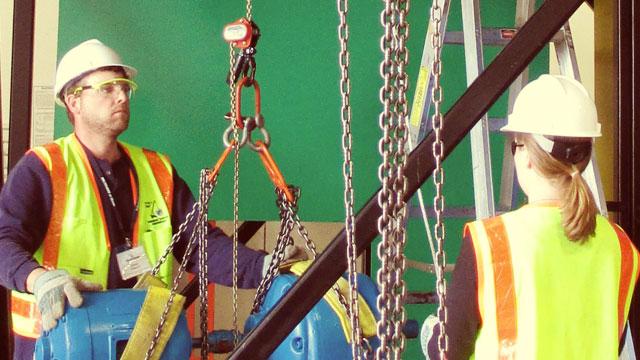 Bull Rigging w/Chain Hoists