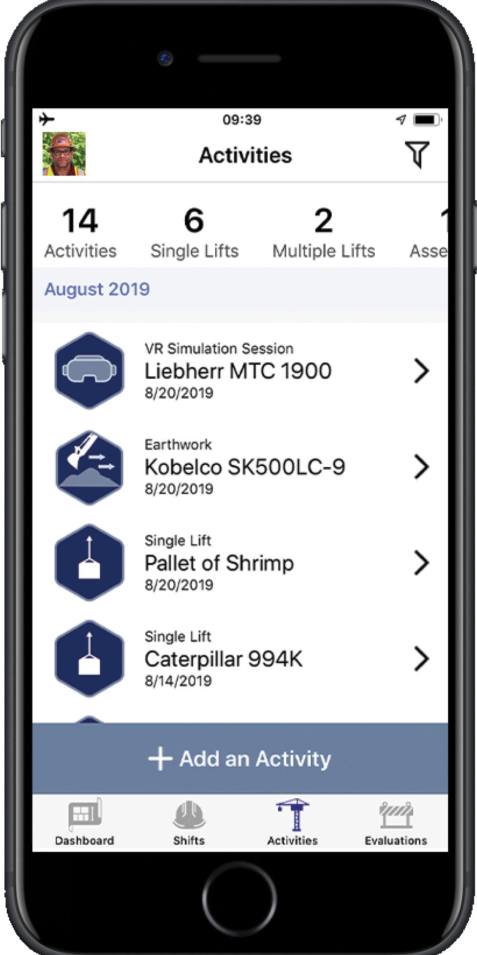 OperatorPRO-SmartPhone-Activities