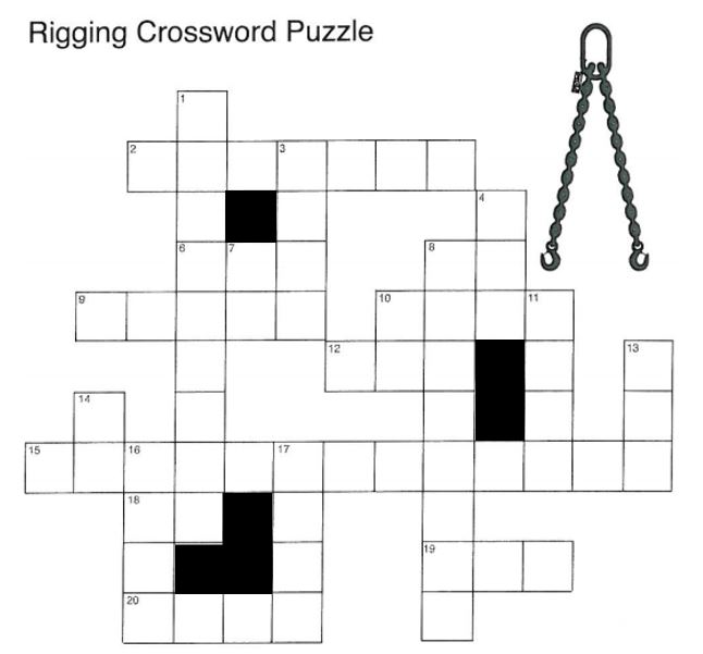 Rigging Crossword Clues Answers