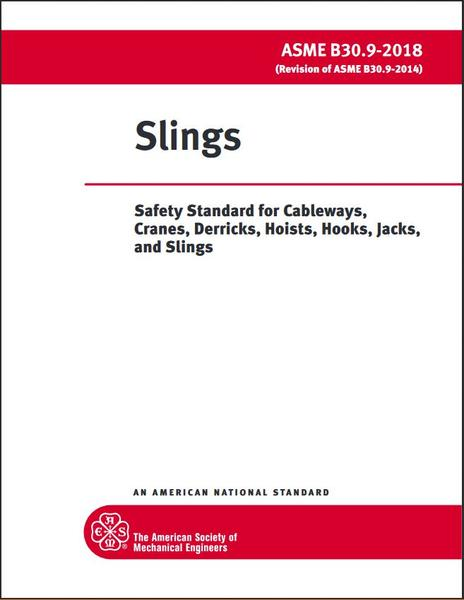 ASME B30.9 Cover