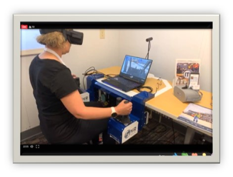 ITI VR Crane Simulator Featured in Oracle Industries Innovation Lab