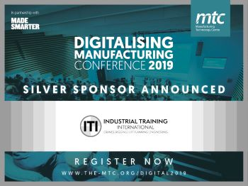ITI Sponsors the Digitalising Manufacturing Conference