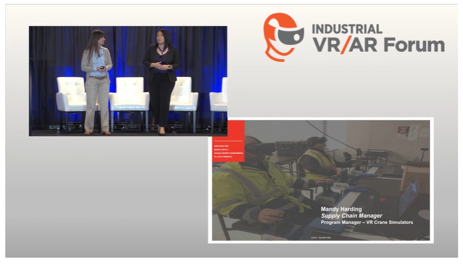 Performance Testing in Virtual Reality - Bechtel and ITI Present at the Industrial VR/AR Forum in Houston, TX