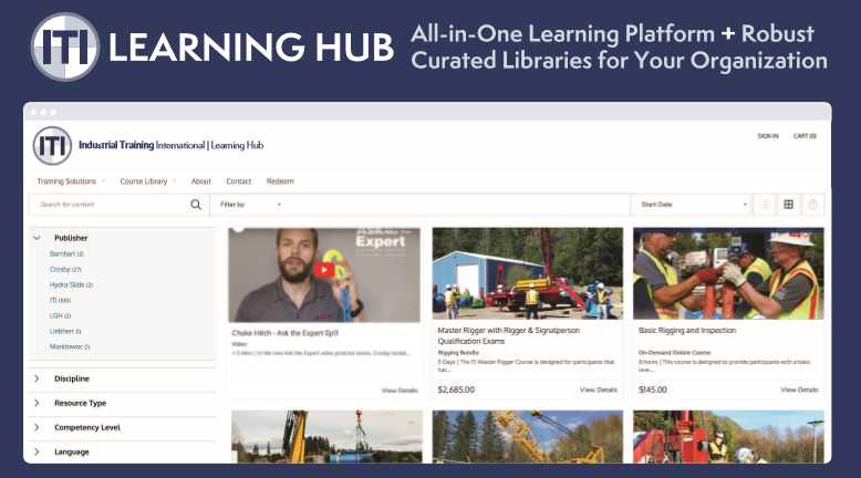 Introducing the new ITI Learning Hub