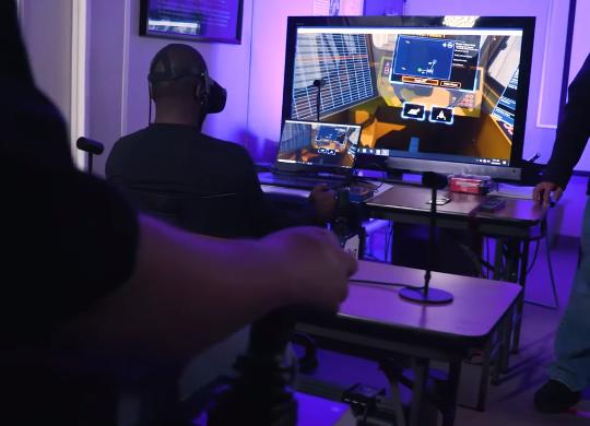 Norfolk Naval Shipyard Showcases How They Train Using the ITI VR Crane Simulator