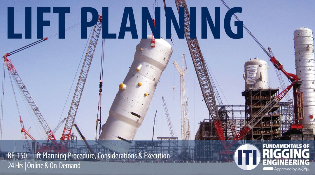 Lift Planning Procedure Considerations & Execution - Online