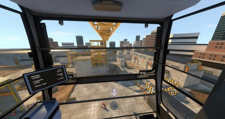 Liebherr 550-EC-H Tower Crane Available Now from ITI VR Simulations